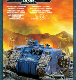 Warhammer 40K Space Marine Land Raider Crusader/Redeemer