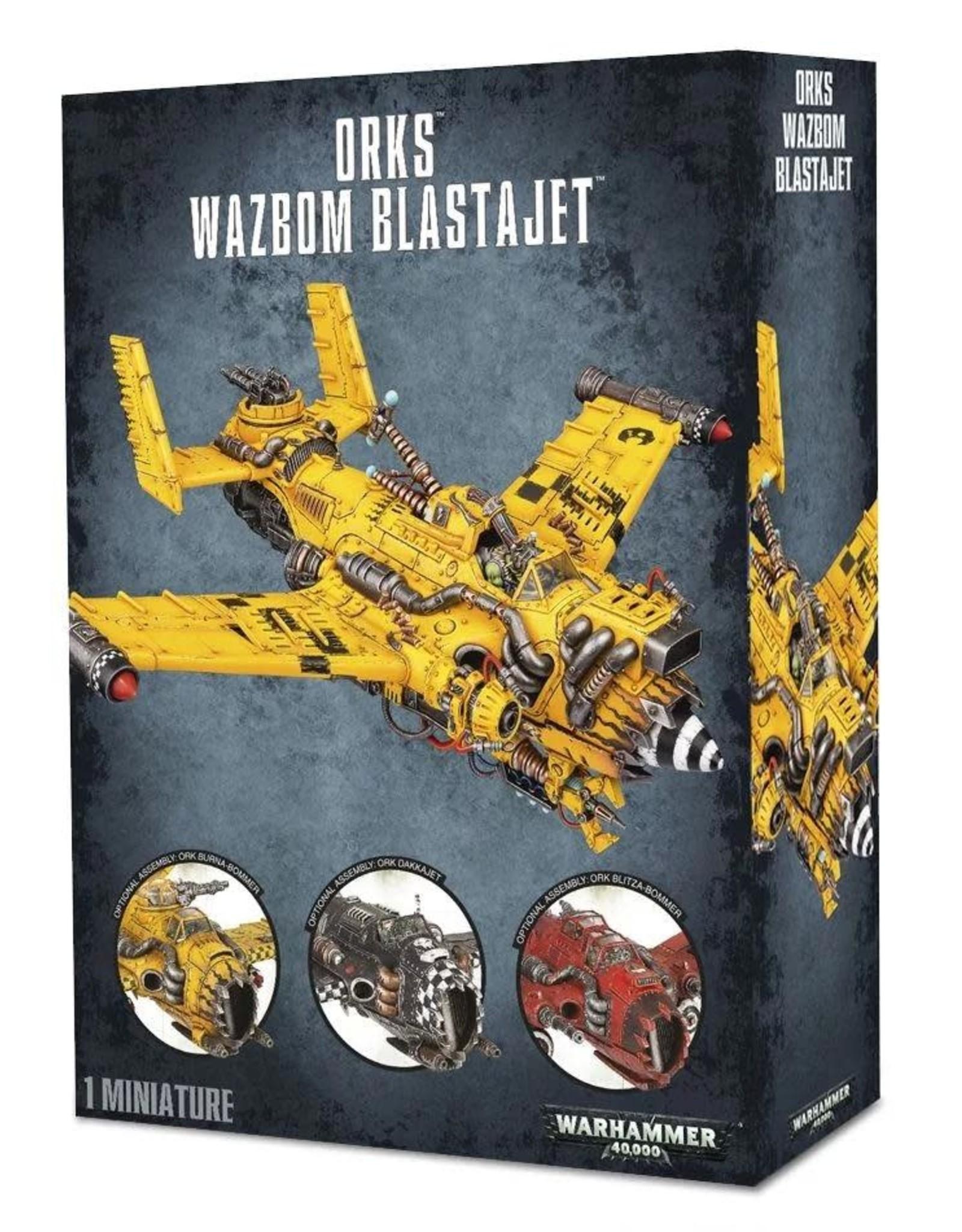 Warhammer 40K Ork Wazbom Blastajet/Burna-Bommer/Dakkajet