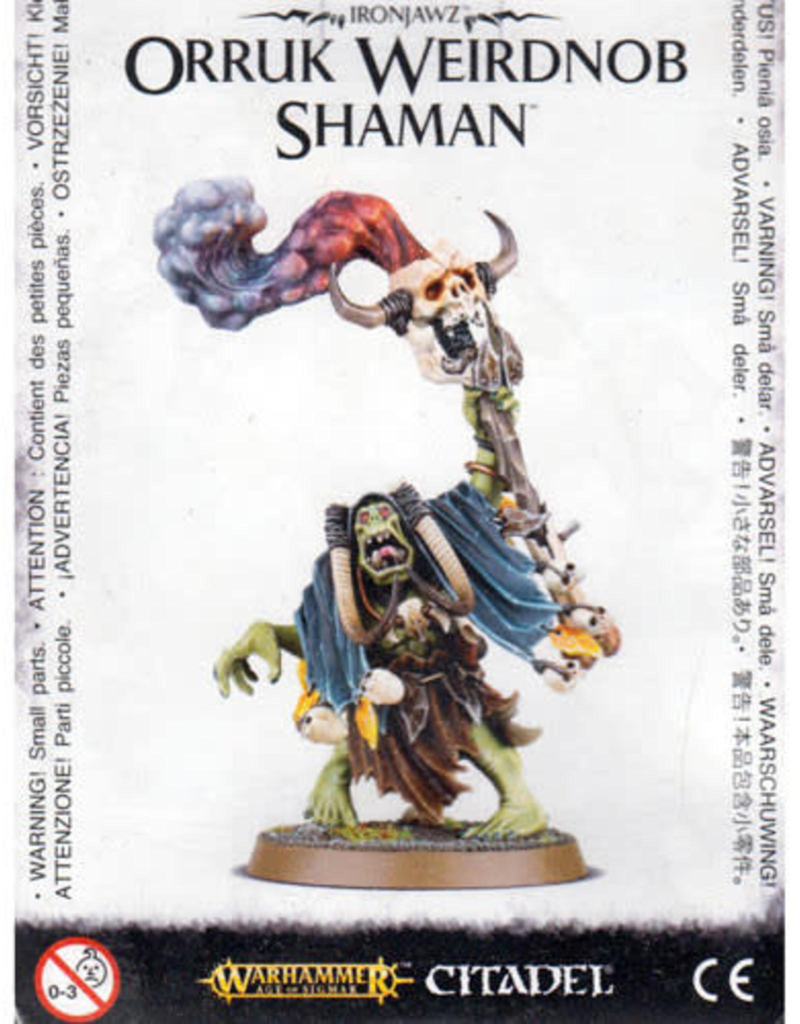 Age of Sigmar Ironjawz Orruk Weirdnob Shaman