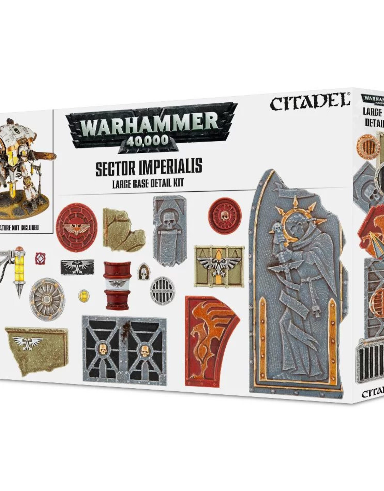 Warhammer 40K Sector Imperialis: Large Base Detail Kit