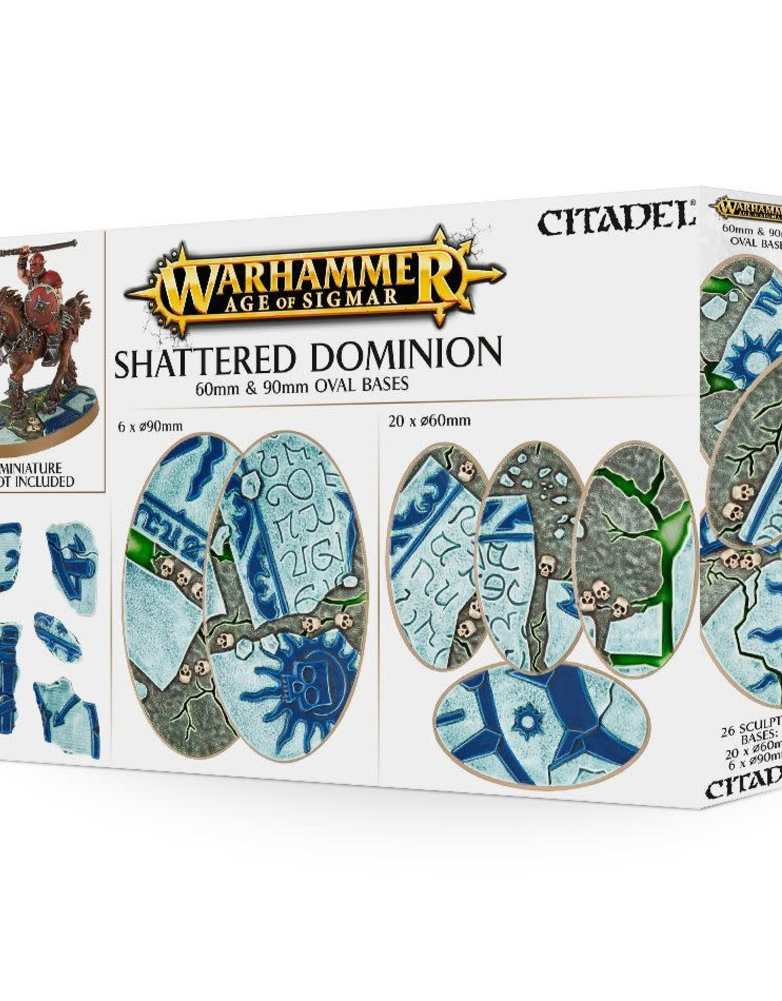 Age of Sigmar Shattered Dominion: 65 & 40MM Round Bases