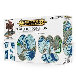 Age of Sigmar Shattered Dominion: 60 & 90MM Oval Bases