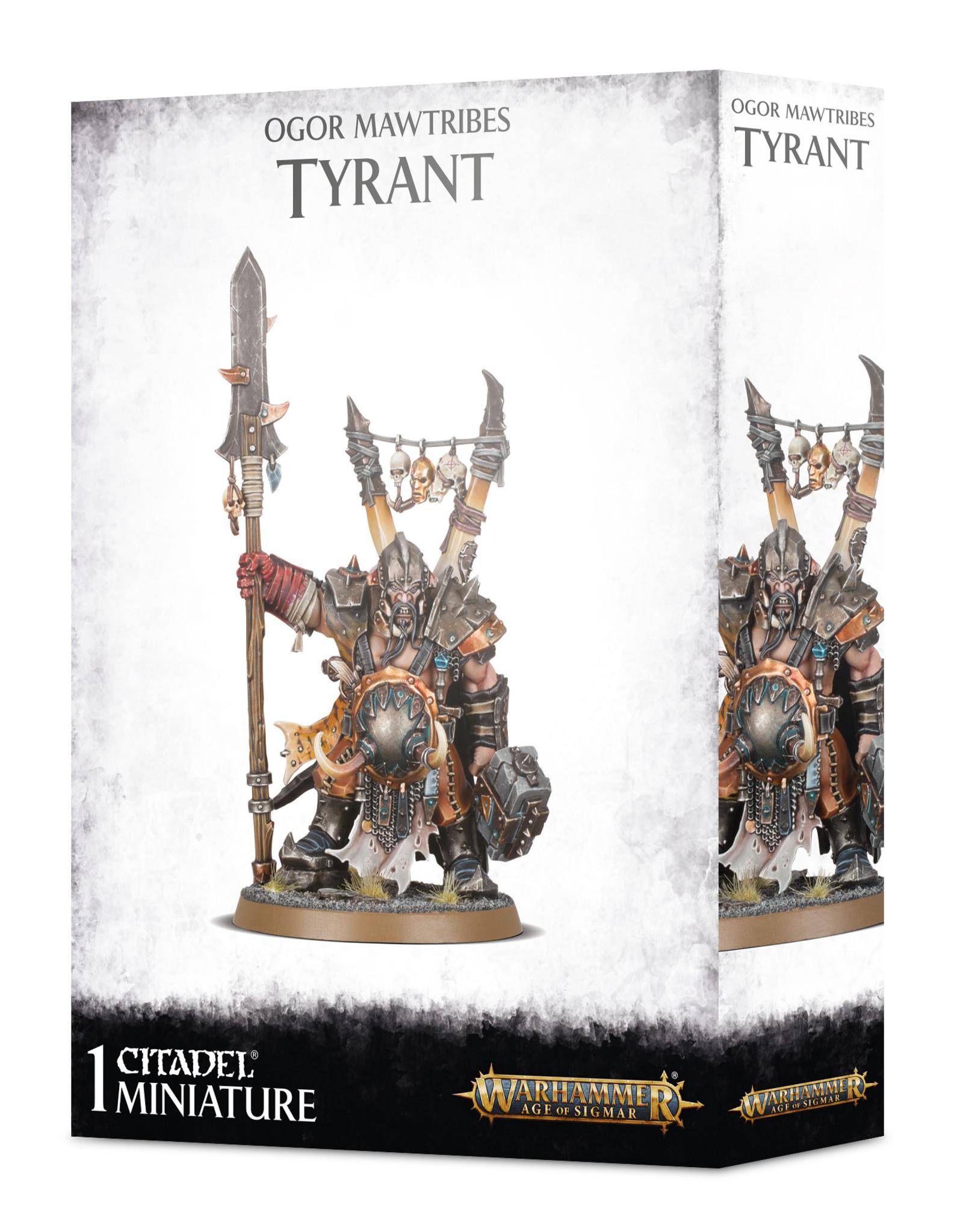 Age of Sigmar Ogor Mawtribes: Tyrant