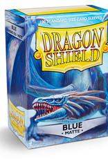 Dragon Shield: 100 Matte Blue