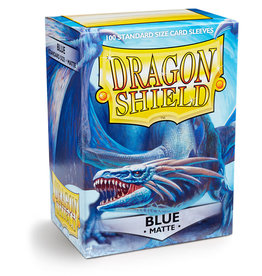 Dragon Shield: 100 Matte Blue