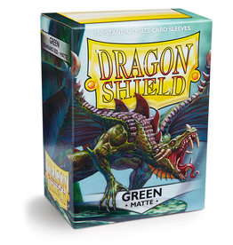 Dragon Shield: 100 Matte Green