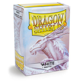 Dragon Shield: 100 Matte White