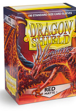 Dragon Shield: 100 Matte Red