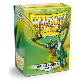 Dragon Shield: 100 Matte Apple Green