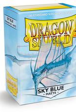 Dragon Shield: 100 Matte Sky Blue