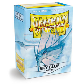 Dragon Shield: 100 Matte Sky Blue