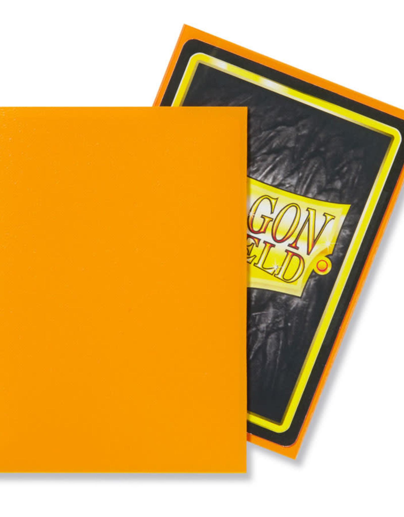 Dragon Shield: 100 Matte Orange