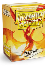 Dragon Shield: 100 Matte Yellow