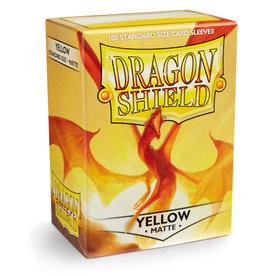 Dragon Shield: 100 Matte Yellow