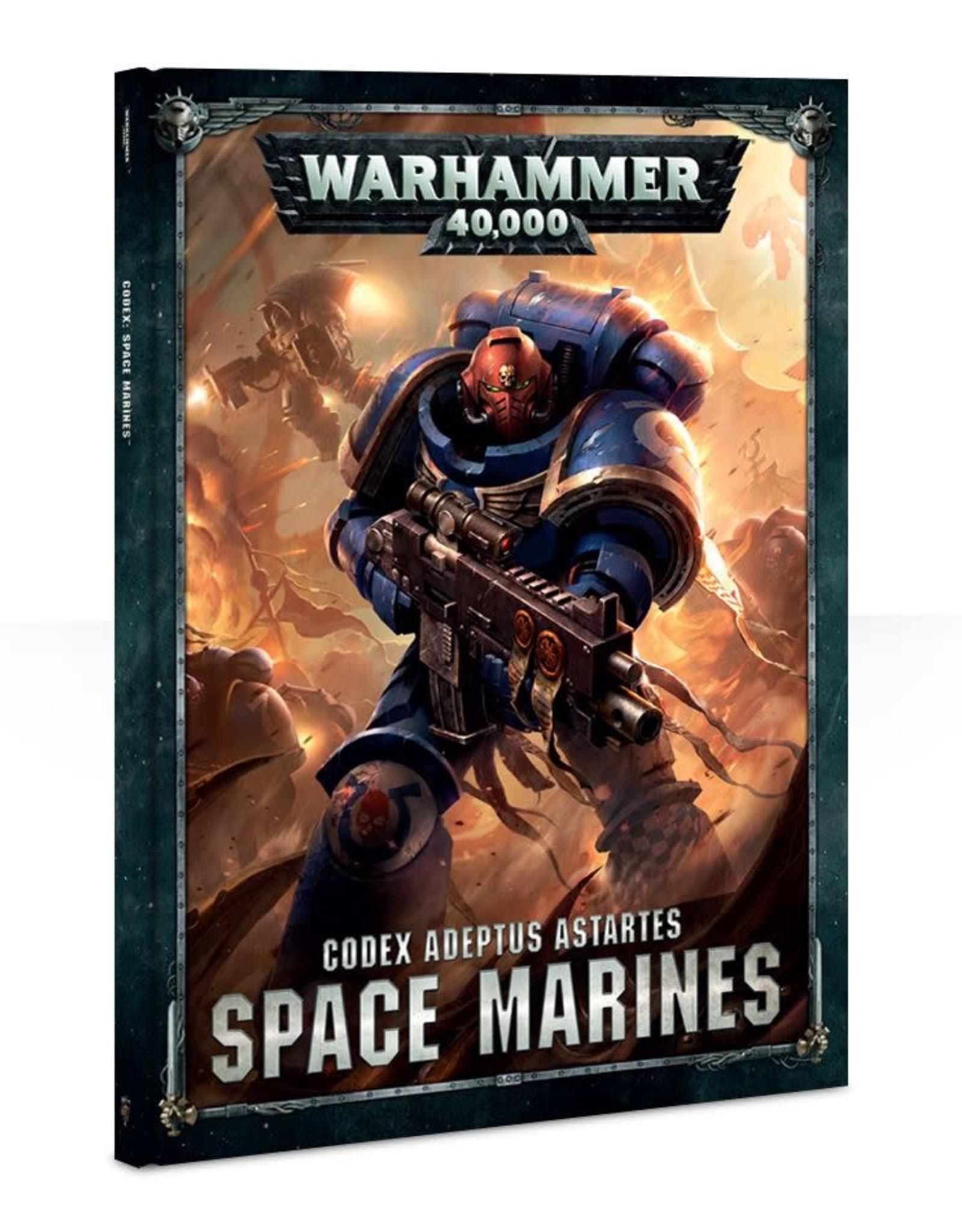 Warhammer 40K: Space Marines Codex 1st Edition
