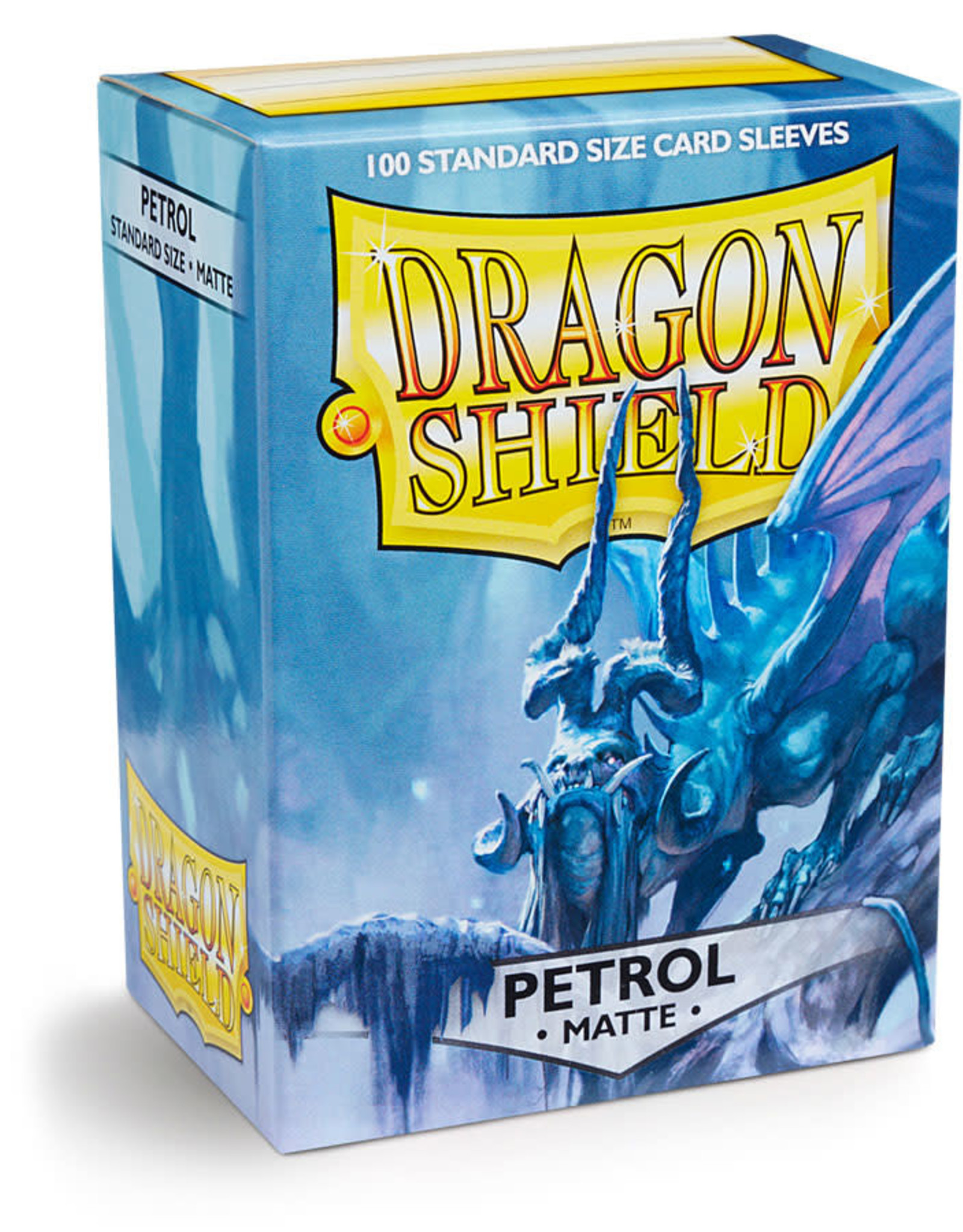 Dragon Shield: 100 Matte Petrol