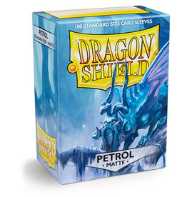 Dragon Shield: 100 Matte Petrol