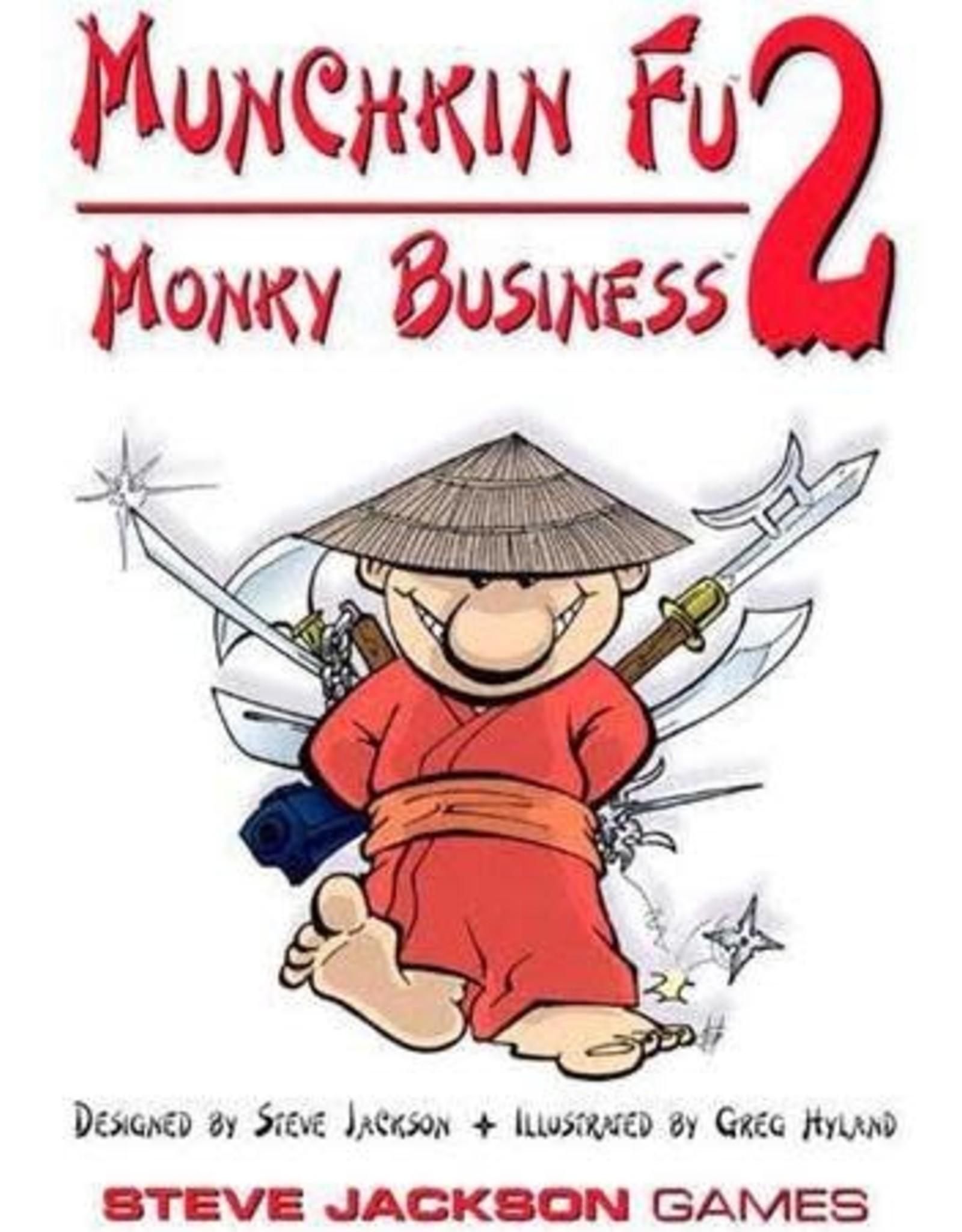 Munchkin Fu: Monkey Business