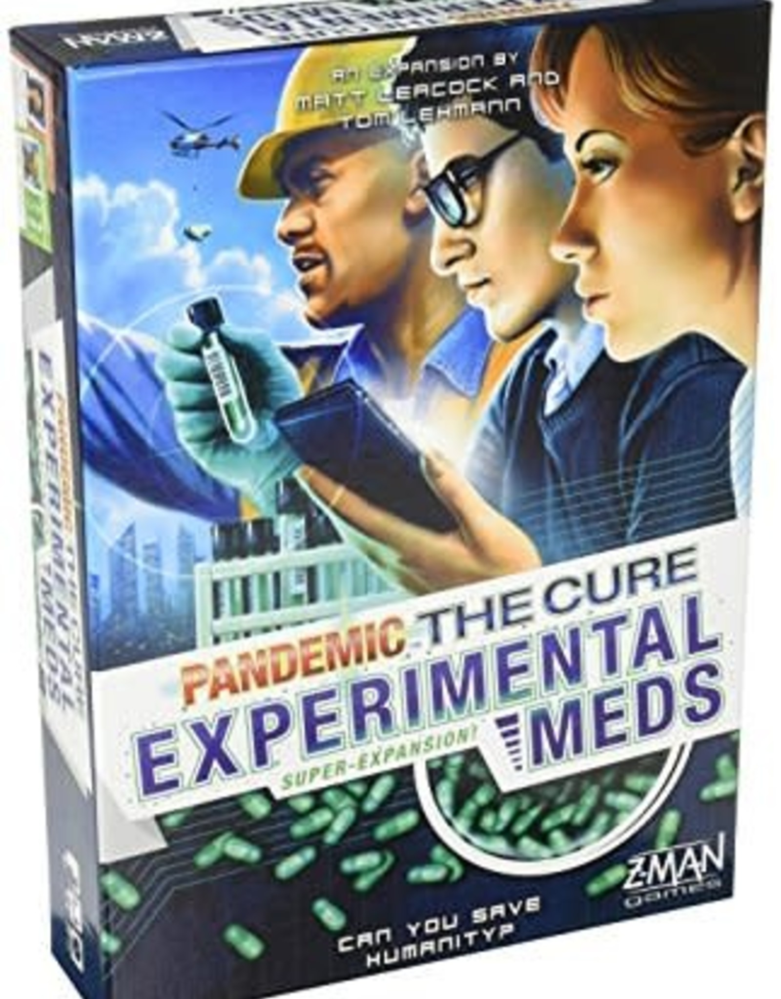 Pandemic: The Cure - Experimental Meds Super Expansion