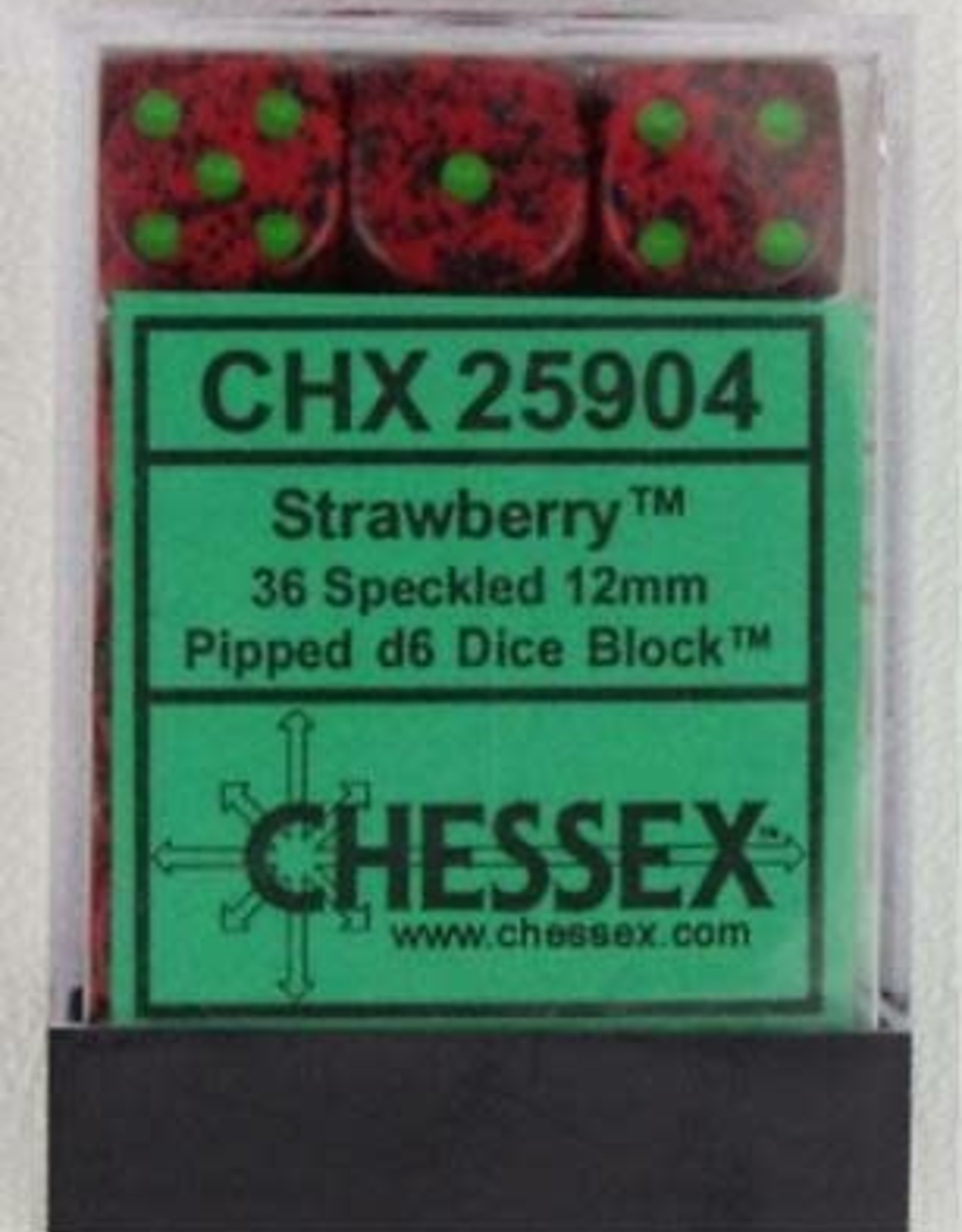 CHX 25904  Speckled 'Strawberry'