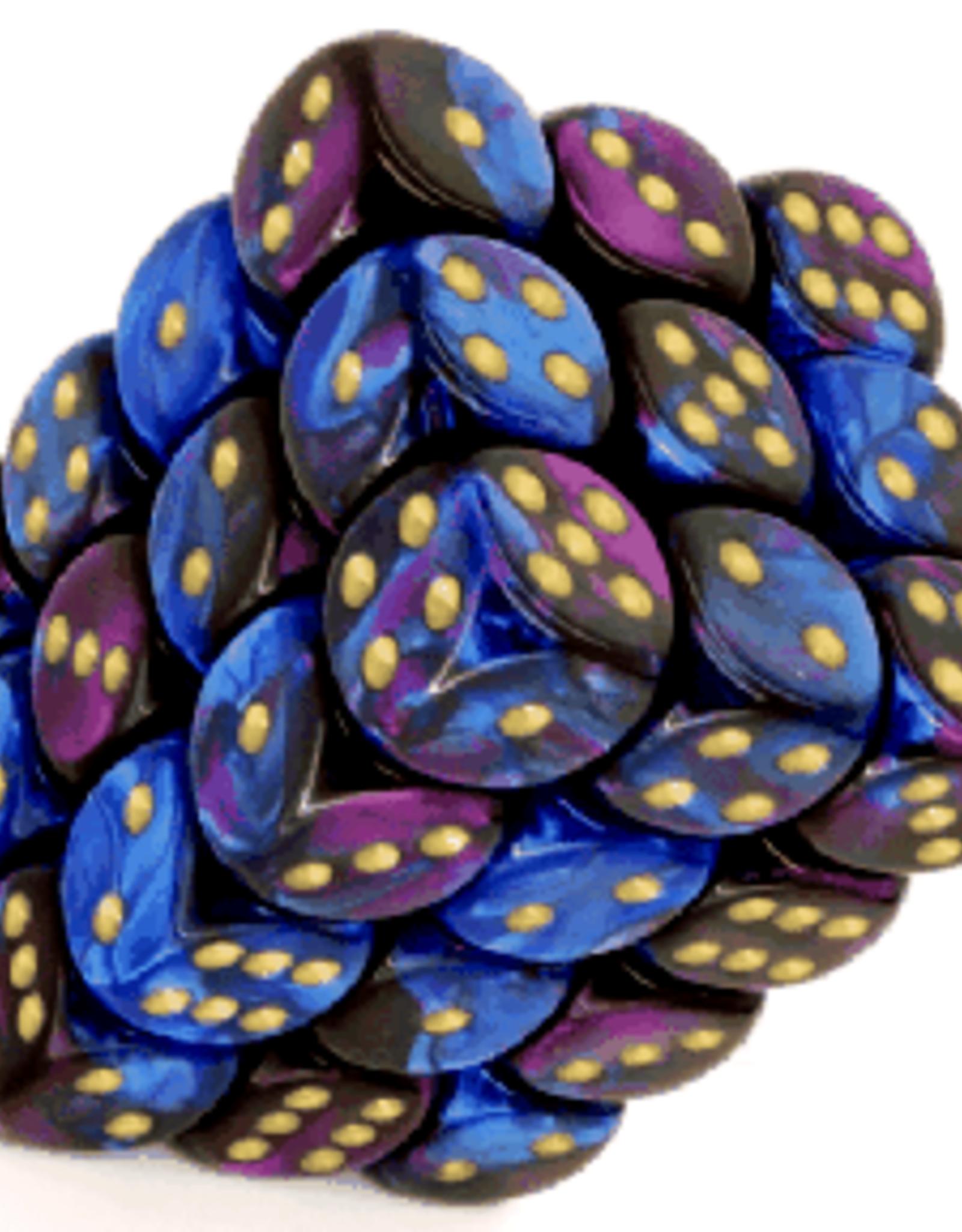 CHX 26828 GEMINI 12MM D6 - BLUE PURPLE/GOLD