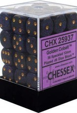 CHX 25937 Speckled: Golden Cobalt