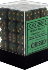 CHX 25935 Speckled 12mm D6 Golden Recon