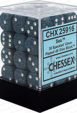 CHX 25916 Speckled 12mm D6 Sea