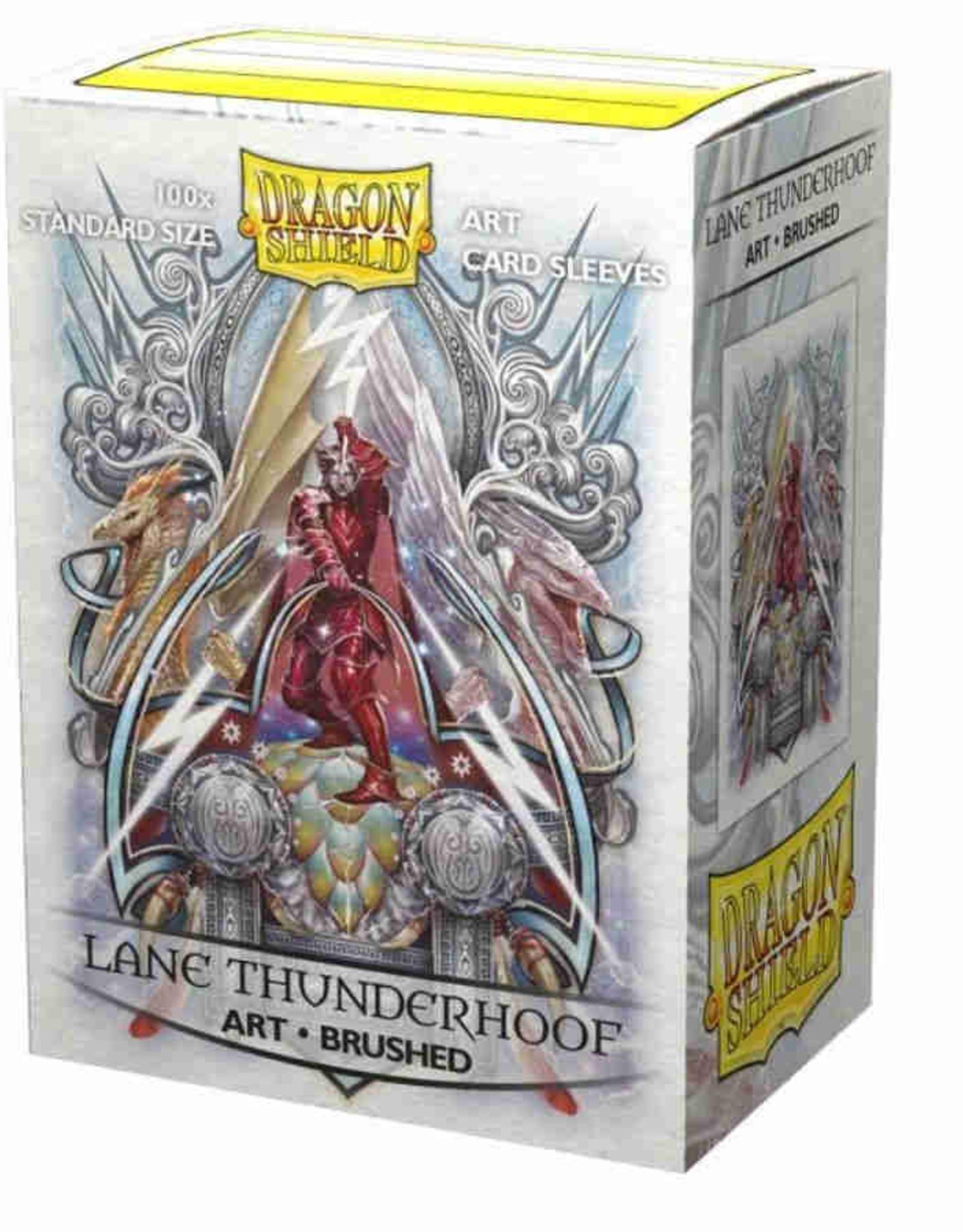 Dragon Shield Art Brushed Lane Thunderhoof