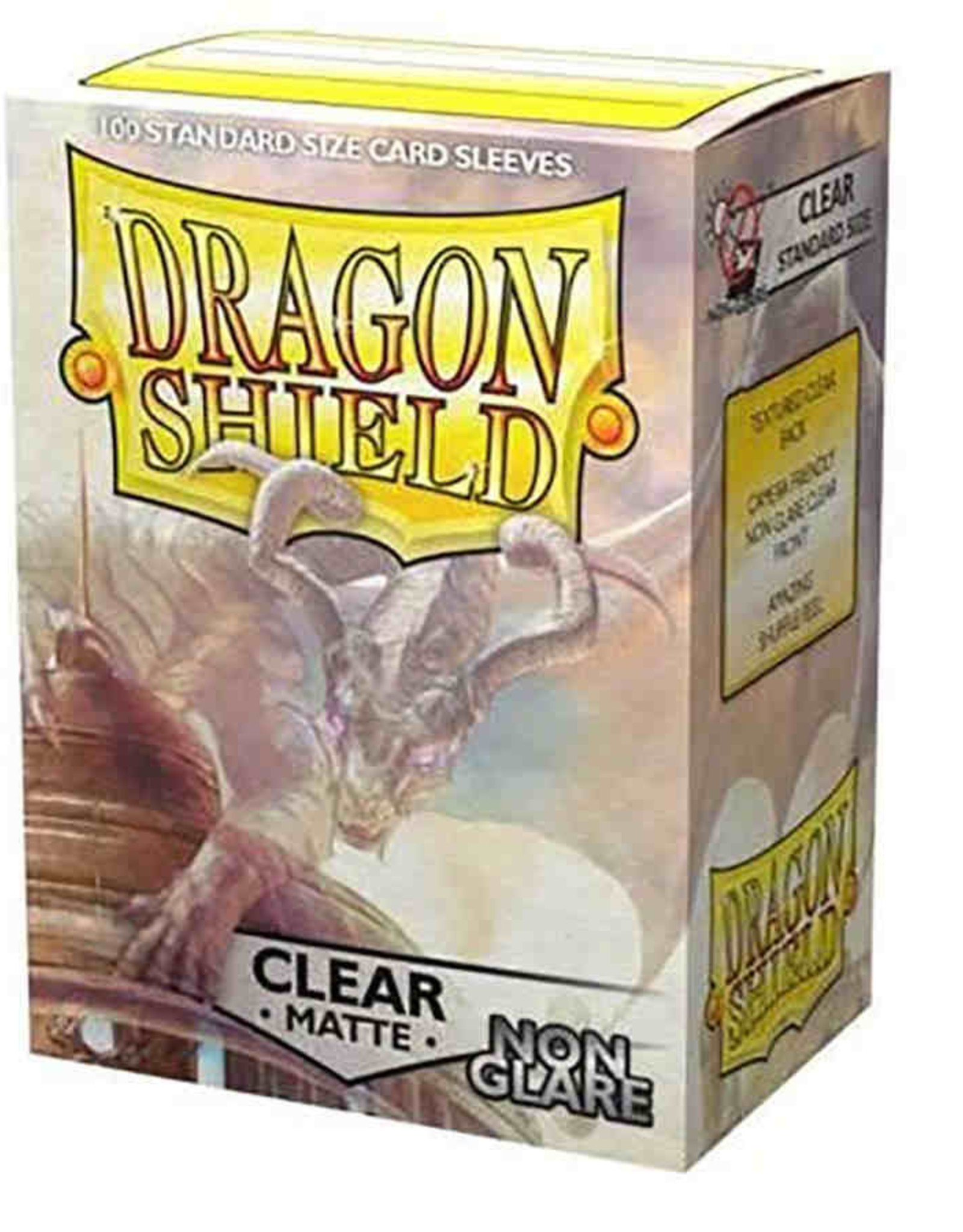 Dragon Shield: 100 Matte Clear Non-Glare