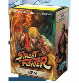 Dragon Shield Sleeves 100 Art Classic Street Fighter Ken