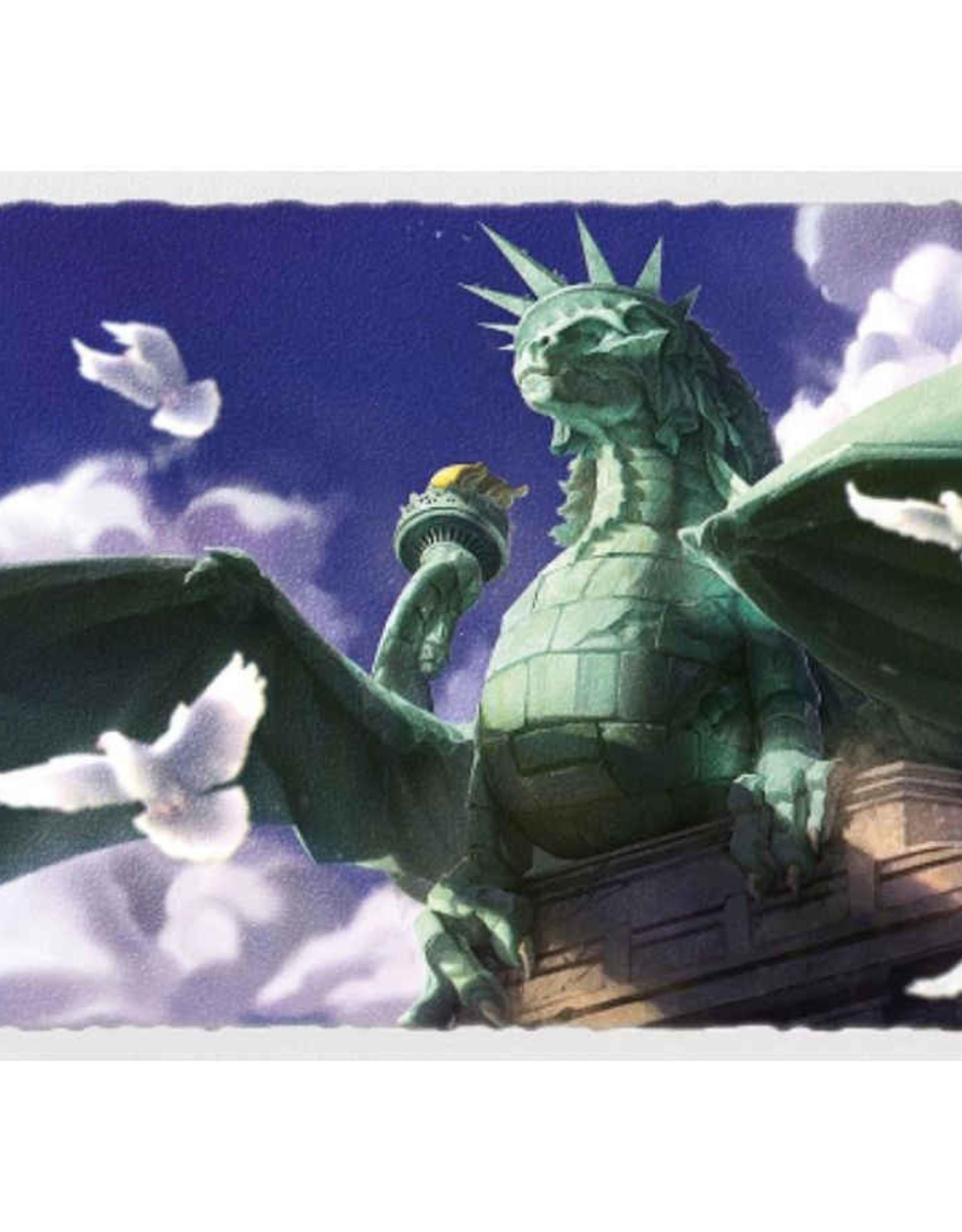 Dragon Shield Art Matte Dragon of Liberty