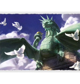 Dragon Shield Art Matte Dragon of Liberty
