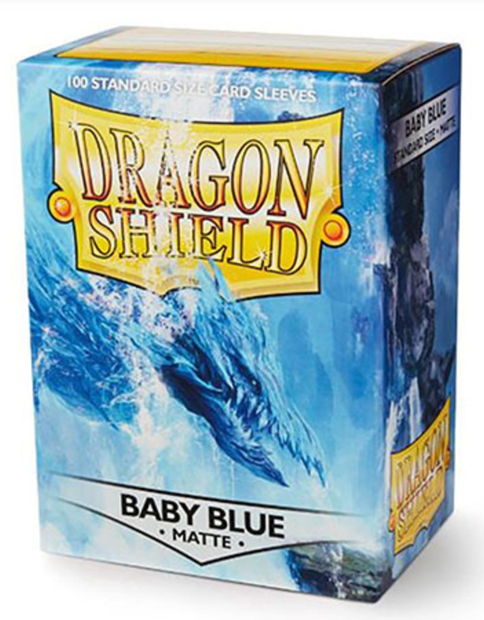 Dragon Shield: 100 Matte Baby Blue