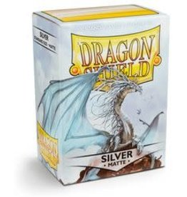 Dragon Shield: 100 Matte Silver