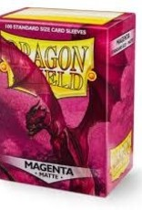 Dragon Shield: 100 Matte Magenta