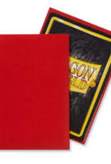 Dragon Shield: 100 Matte Crimson