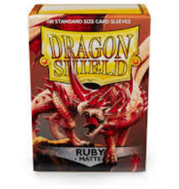 Dragon Shield: 100 Matte Ruby