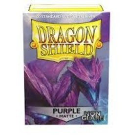 Dragon Shield: 100 Matte Purple Non-Glare