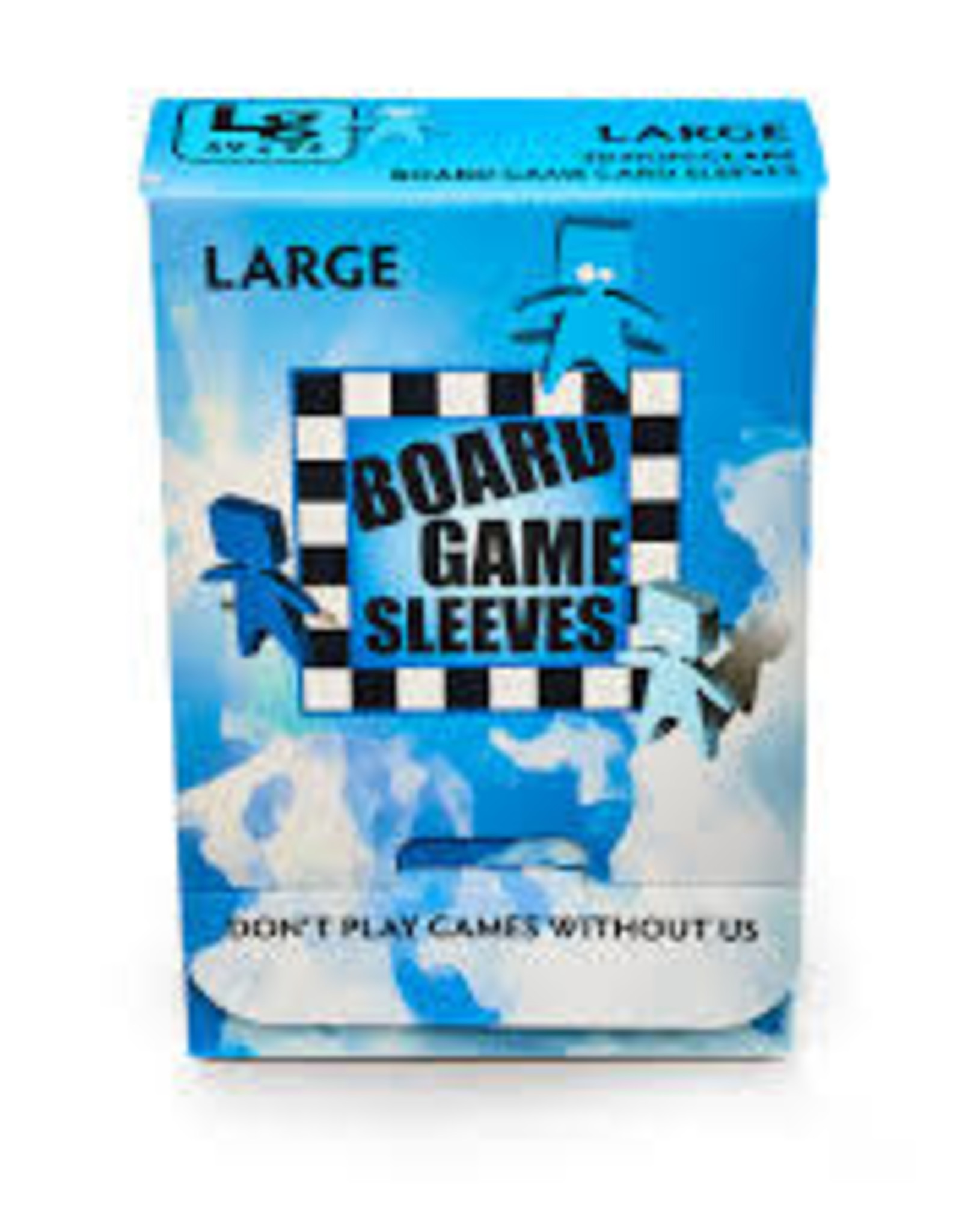 Board Game Sleeves: Non-Glare Large