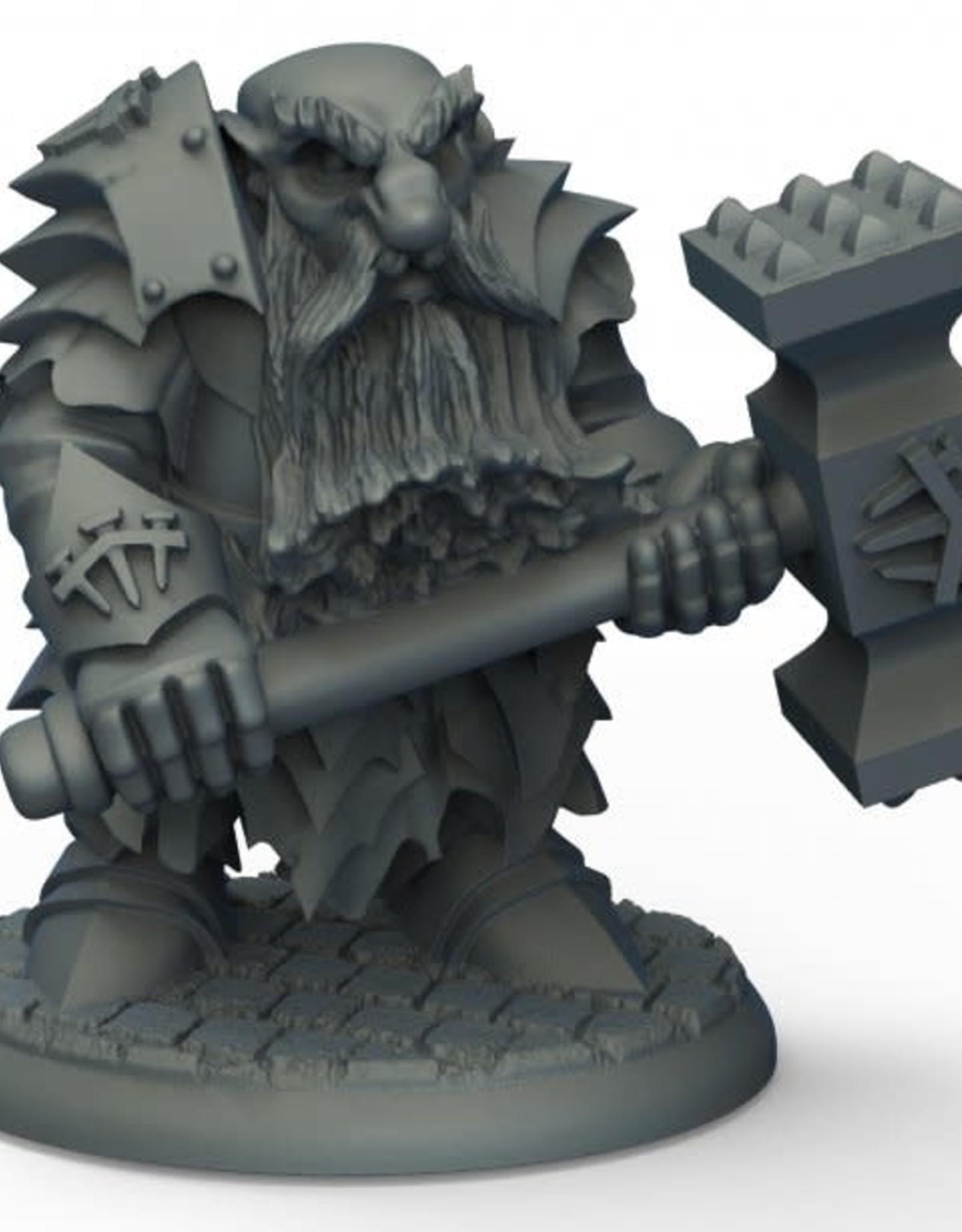 Bones Dark Dwarf Pounder
