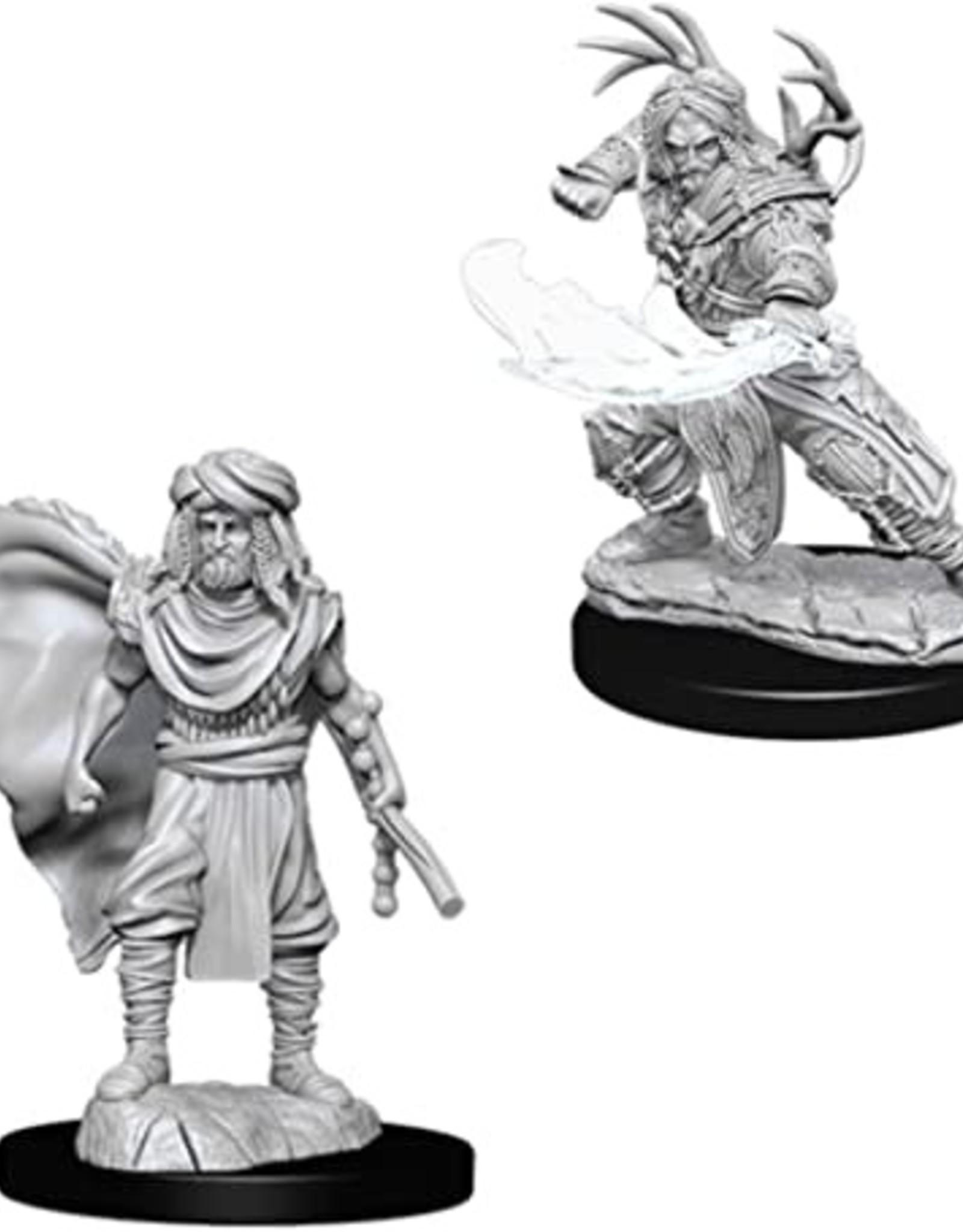 D&D Mini: Male Human Druid