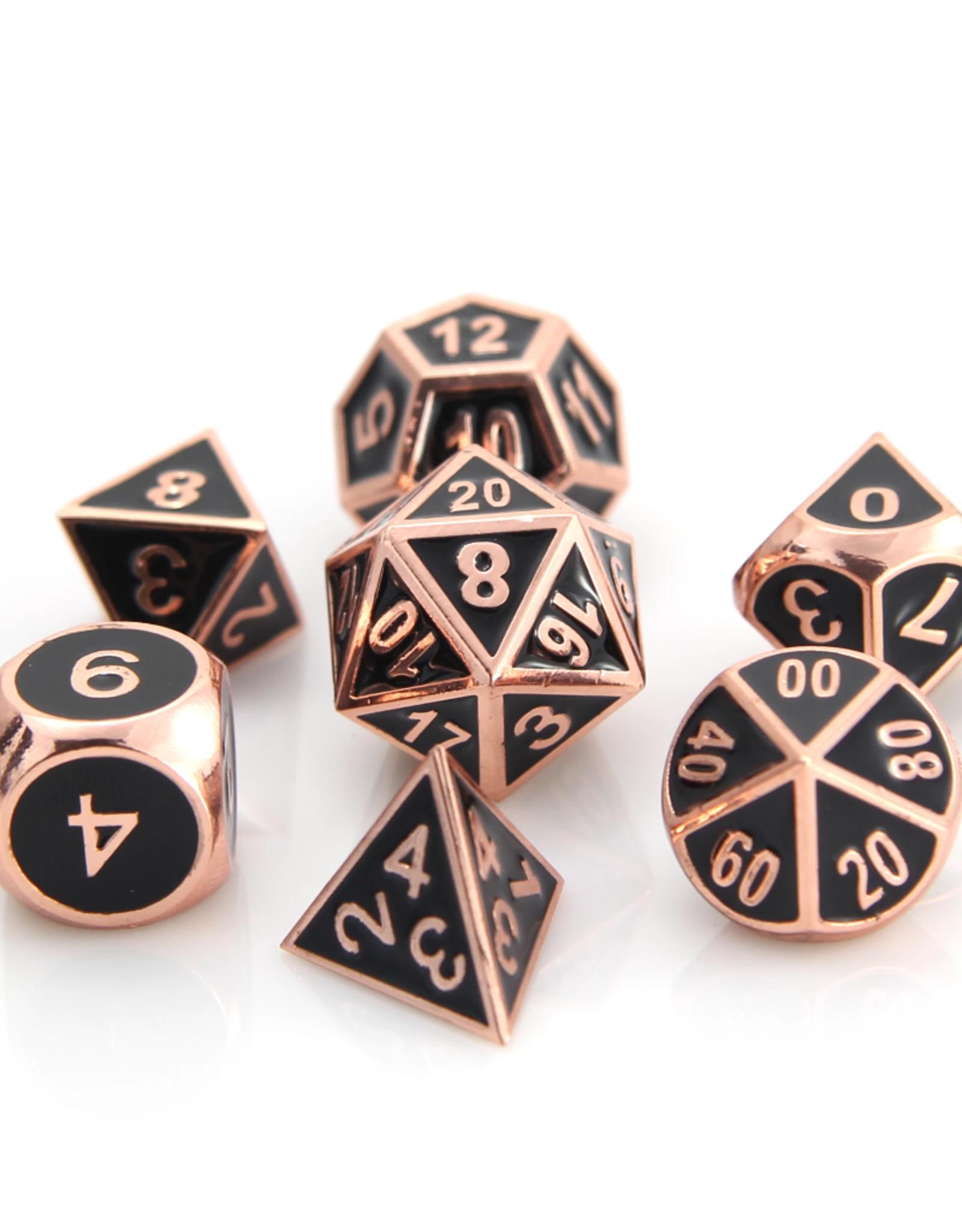 Die Hard RPG Gothica Set - Shiny Copper w/ Black