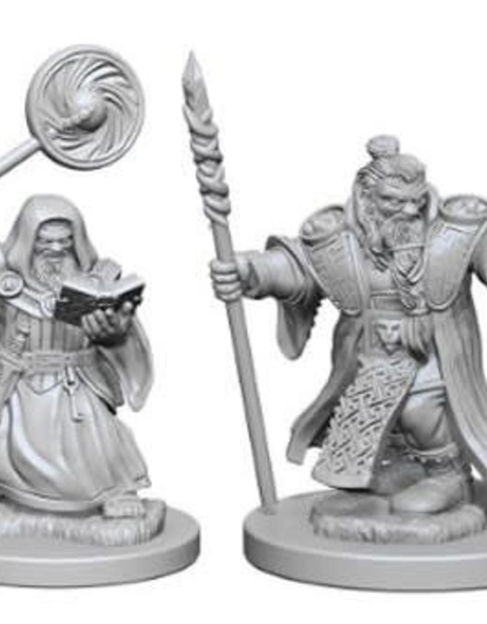 D&D Mini's: Dwarf Male Wizard