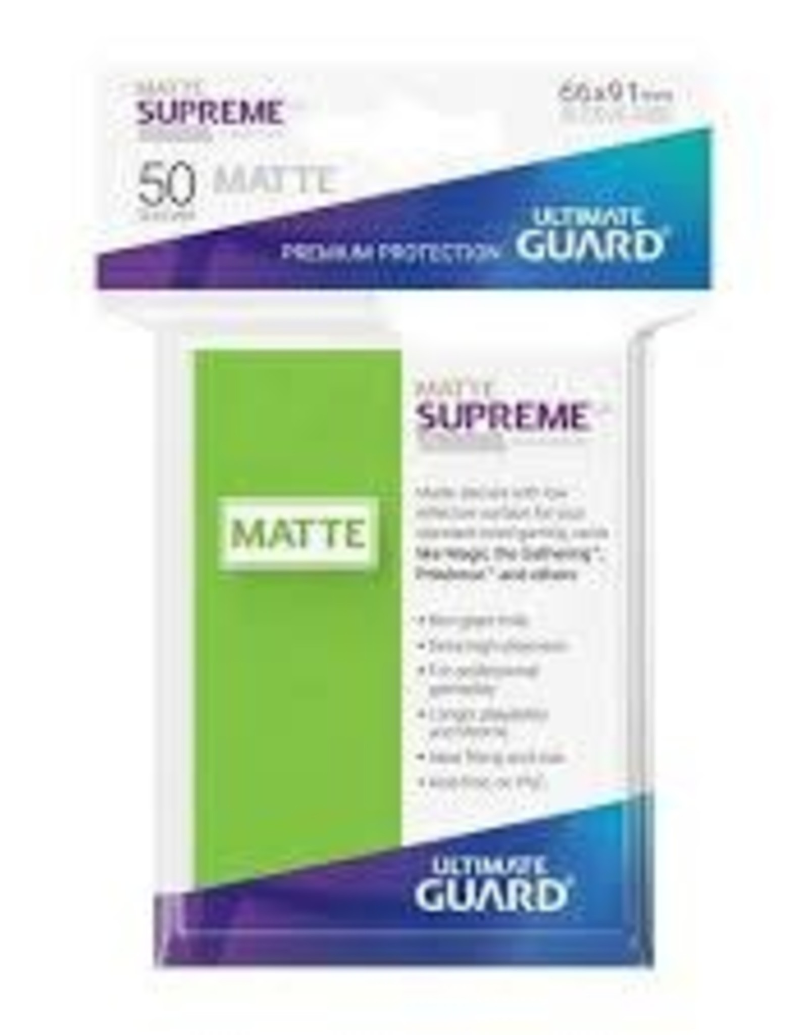 UX Standard 50ct Matte Light Green