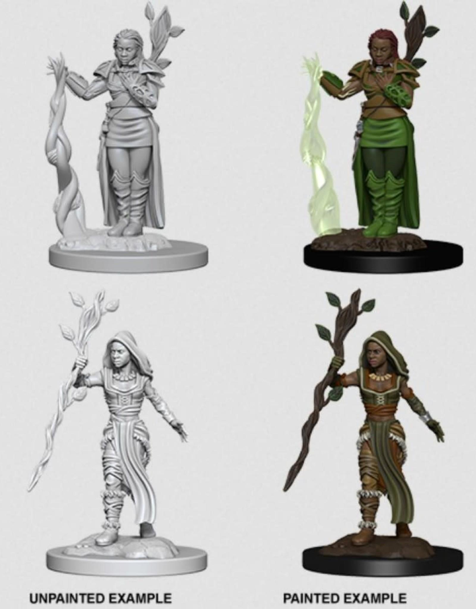D&D Mini's : Human Female Druid
