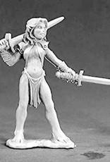 D&D Mini's: Premier Female Elf Druid