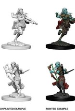 D&D Mini's : Air Genasi Female Rogue
