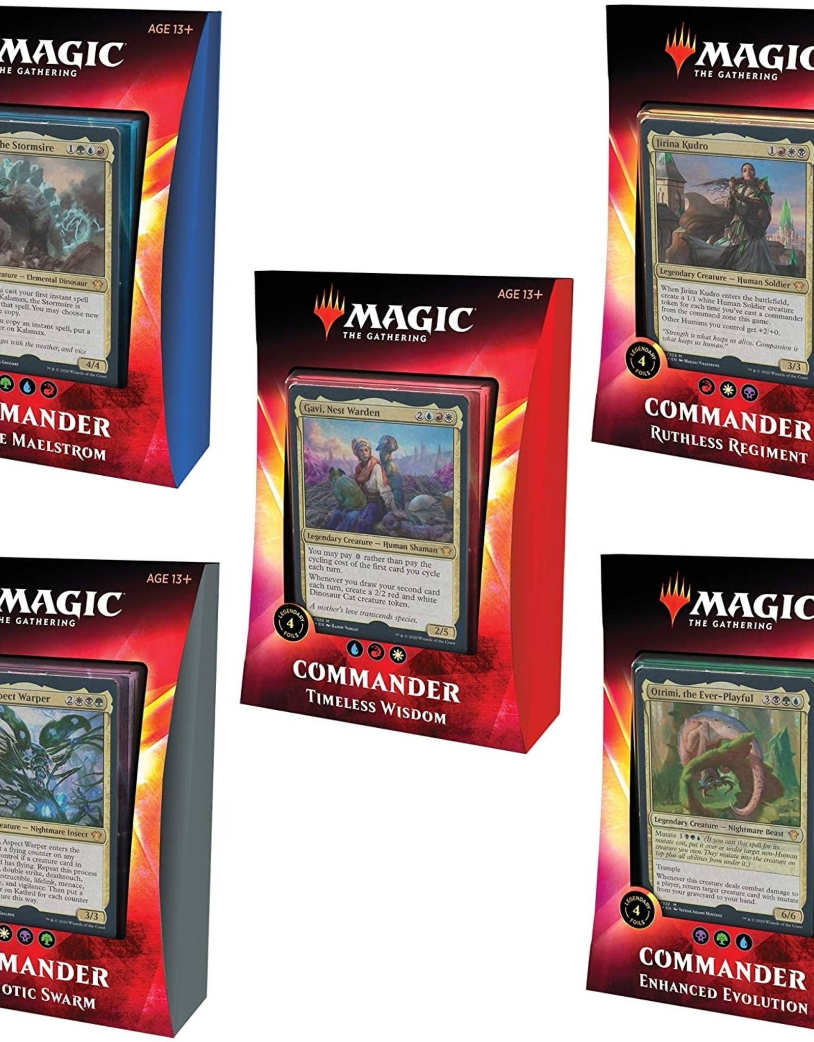 Ikoria Commander decks - bundle All 5