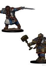D&D Mini's : Dwarf Male Fighter